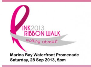 ribbon walk